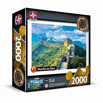 Quebra-Cabeça Muralha da China 2000 peças