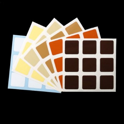 Adesivo 3x3x3 Brown Mix