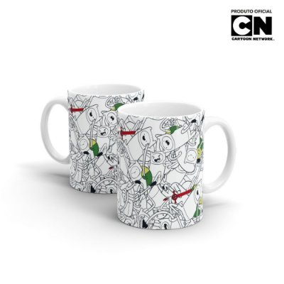 Caneca Cartoon Network Hora de Aventura - Finn