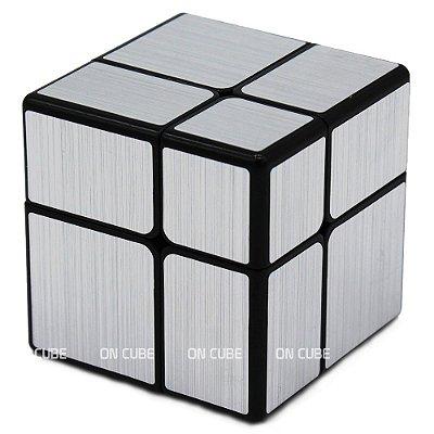 Cubo Mágico Mirror Blocks 2x2x2 Qiyi Prata