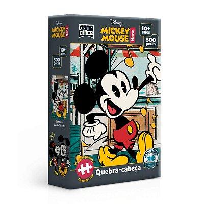 Quebra-Cabeça Mickey Mouse - Mickey 500 Peças Nano
