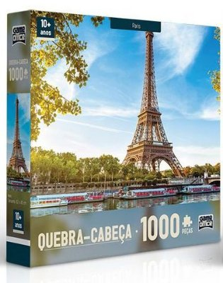 Quebra-Cabeça Paris 1000 peças