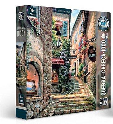 Quebra-Cabeça Viela Francesa 1 - 1000 peças