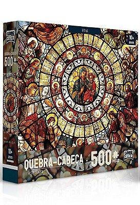 Quebra-Cabeça Arte Sacra - Vitral 500 peças