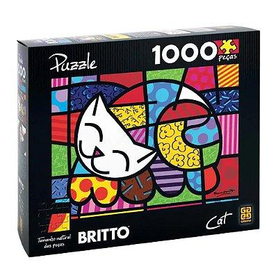 Quebra-Cabeça Romero Britto - Cat 1000 peças