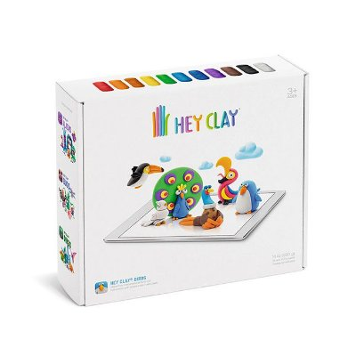 Hey Clay Aves - Massinha de Modelar