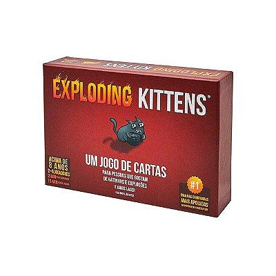 Exploding Kittens - Jogo de Cartas