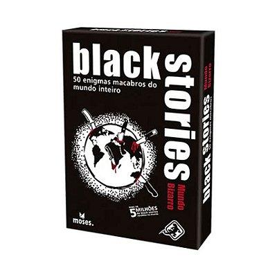 Black Stories Mundo Bizarro - Jogo de Cartas
