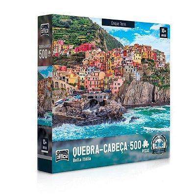 Quebra-Cabeça Bella Itália - Cinque Terre 500 peças