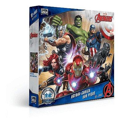 Quebra-Cabeça Os Vingadores 500 peças