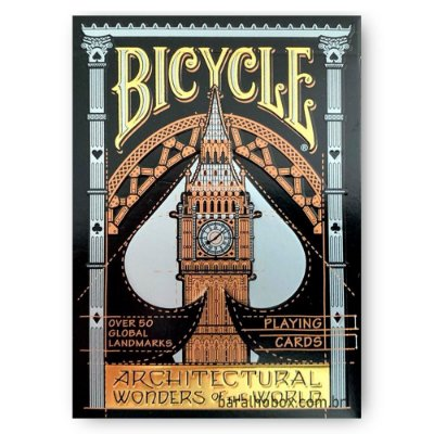 Baralho Bicycle Architectural Wonders of the World
