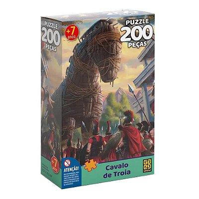 Quebra-Cabeça Cavalo de Troia 200 peças