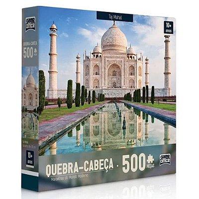Quebra-Cabeça Maravilhas do Mundo Moderno - Taj Mahal 500 peças