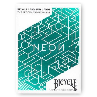 Baralho Bicycle Neon Cardistry