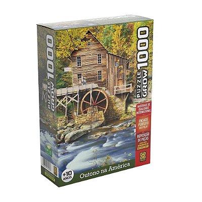 Quebra-Cabeça Outono na América 1000 peças