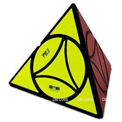 Cubo Mágico Pyraminx Disc Qiyi Preto