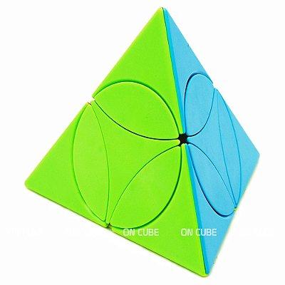Cubo Mágico Pyraminx Disc Qiyi Stickerless