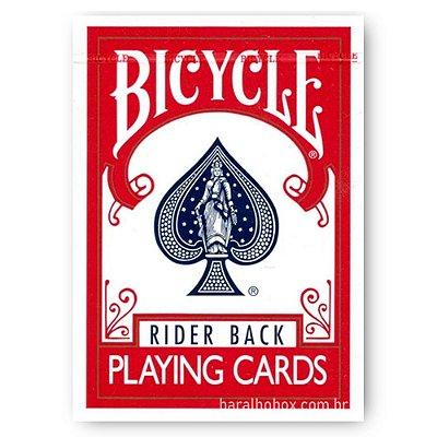 Baralho Bicycle Rider Back Vermelho