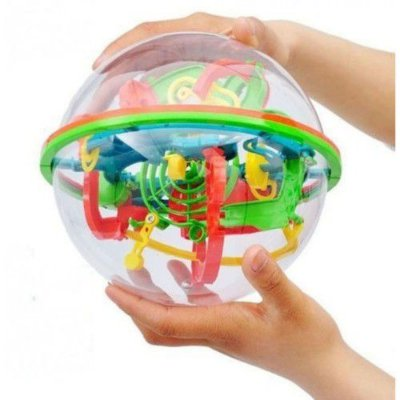 Bola Inteligente com 138 pontos - Labirinto 3D