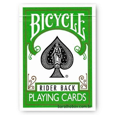 Baralho Bicycle Rider Back Verde