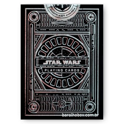 Baralho Star Wars Silver Edition Black