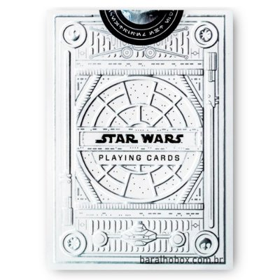 Baralho Star Wars Silver Edition White