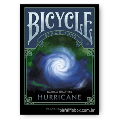 Baralho Bicycle Natural Disasters Hurricane