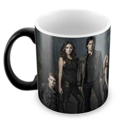 Caneca Mágica  - The Vampire Diaries - Elenco