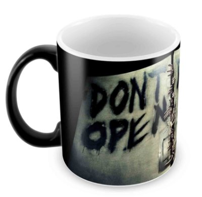Caneca Mágica  - The Walking Dead - Dont Open