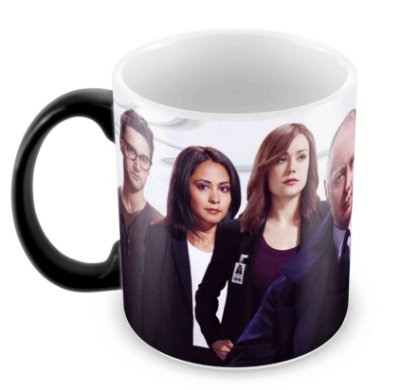 Caneca Mágica  - The Blacklist - Elenco