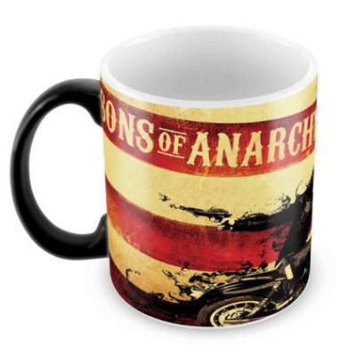 Caneca Mágica  - Sons of Anarchy - Jax
