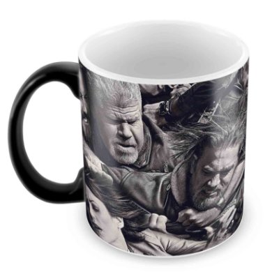 Caneca Mágica  - Sons of Anarchy - Fight