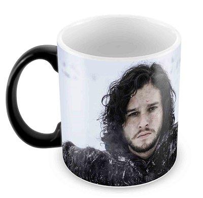 Caneca Mágica  - Game of Thrones - Jon Snow