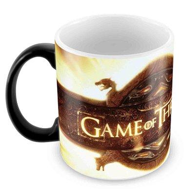 Caneca Mágica  - Game of Thrones - Logo 2