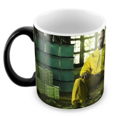 Caneca Mágica - Breaking Bad - Money