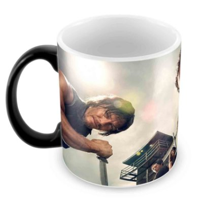 Caneca Mágica - The Walking Dead