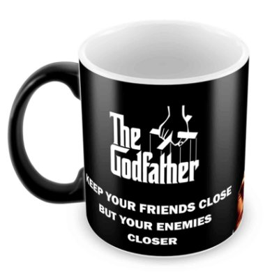 Caneca Mágica - O Poderoso Chefão - The Godfather