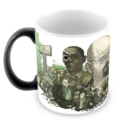 Caneca Mágica - Breaking Bad