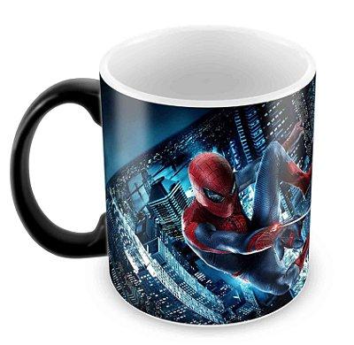 Caneca Mágica  - Homem Aranha