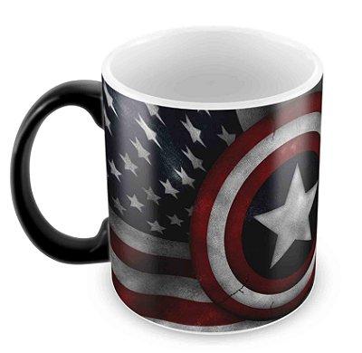 Caneca Mágica  - Capitão América