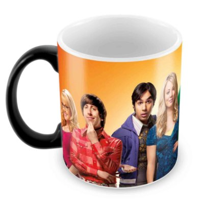 Caneca Mágica  - The Big Bang Theory