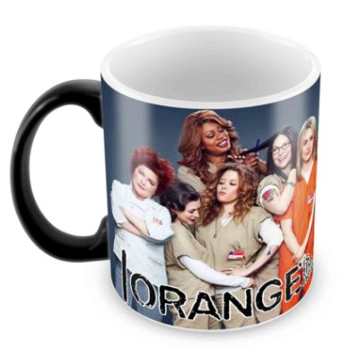 Caneca Mágica  - Orange is the new Black