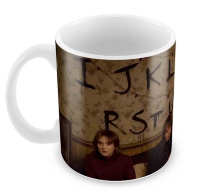Caneca Branca - Stranger Things III
