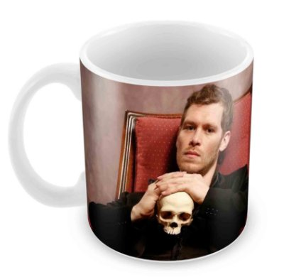 Caneca Branca - Klaus Mikaelson - The Originals