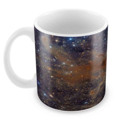 Caneca Branca - Universo II