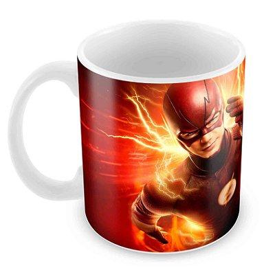 Caneca Branca - The Flash - Flash