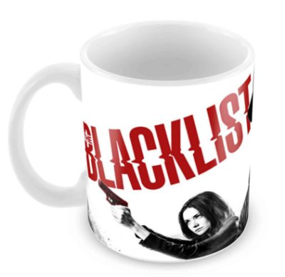 Caneca Branca - The Blacklist