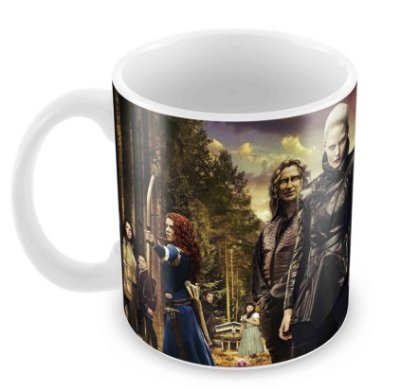 Caneca Branca - Once Upon a Time
