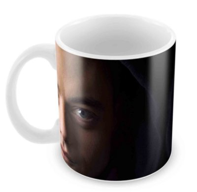 Caneca Branca - Mr Robot - Face