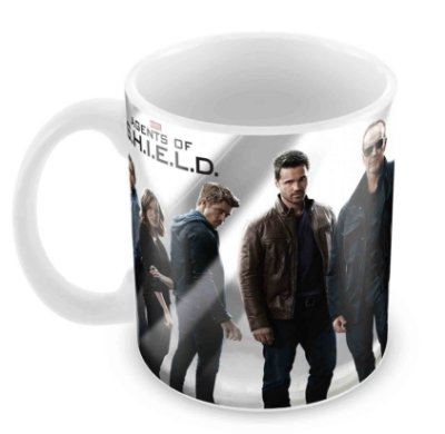 Caneca Branca - Marvel Agents of Shield